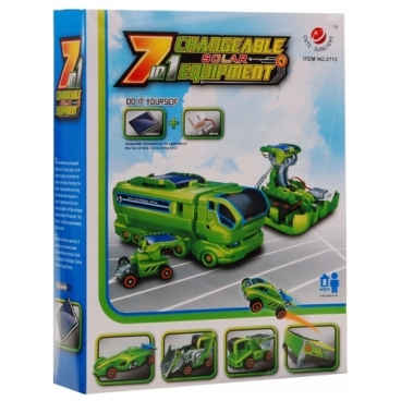 Электромеханический конструктор CuteSunlight Toys Factory 2113 Changeable Solar Equipment 7 in 1