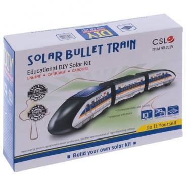 Электромеханический конструктор CuteSunlight Toys Factory Solar Bullet Train