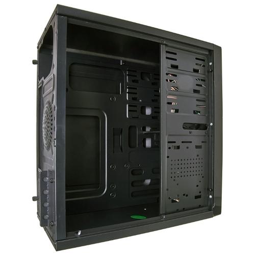 Компьютерный корпус ExeGate QA-411 w/o PSU Black