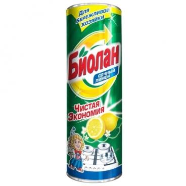 Сухое чистящее средство Сочный лимон Биолан