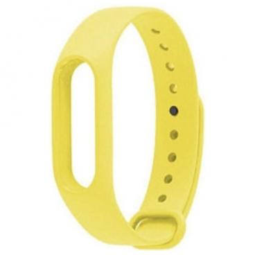 Karmaso Ремешок для Xiaomi Mi Band желтый