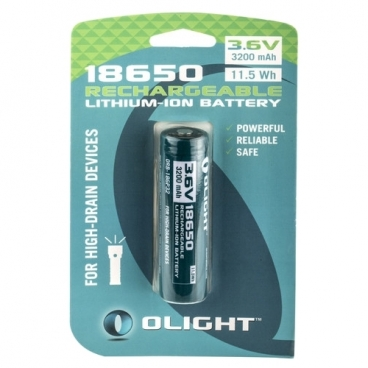 Аккумулятор Li-Ion 3200 мА·ч Olight 18650 ORB-186P32