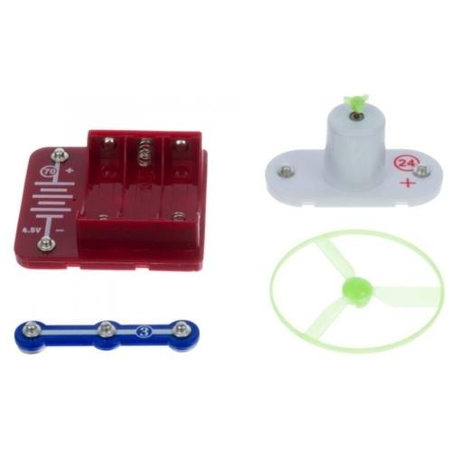 Электронный конструктор Ningbo Union Vision НЛО и вентилятор YJ188180002