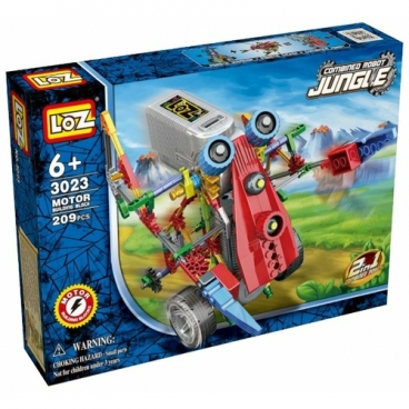 Электромеханический конструктор LOZ Robotic Jungle 3023