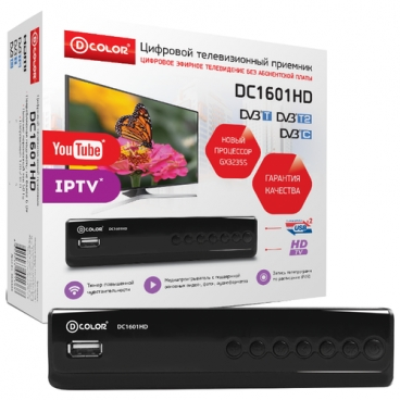 TV-тюнер D-COLOR DC1601HD