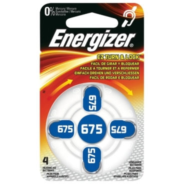 Батарейка Energizer Zinc Air 675