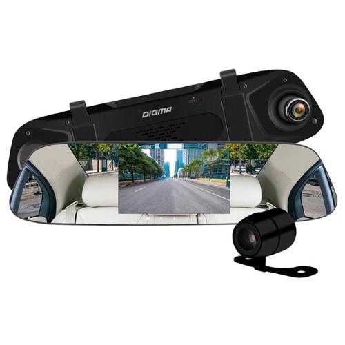 Видеорегистратор Digma FreeDrive 404 MIRROR DUAL, 2 камеры