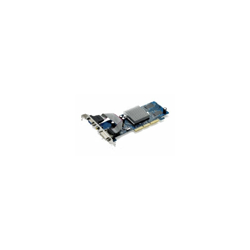 Видеокарта ASUS GeForce FX 5200 250Mhz AGP 128Mb 400Mhz 64 bit DVI TV