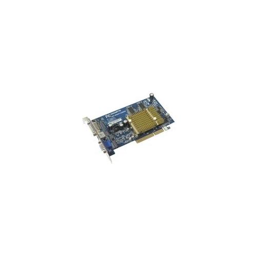 Видеокарта GIGABYTE Radeon 9600 Pro 400Mhz AGP 128Mb 600Mhz 128 bit DVI TV Silent
