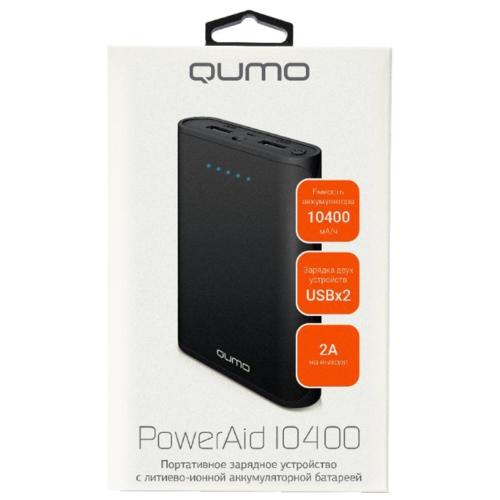 Аккумулятор Qumo PowerAid 10400 (20032)
