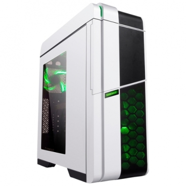 Компьютерный корпус GameMax G536 White/green