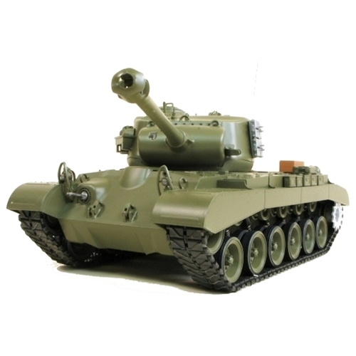 Танк Heng Long M26 Pershing Snow Leopard (3838-1) 1:16 53.5 см
