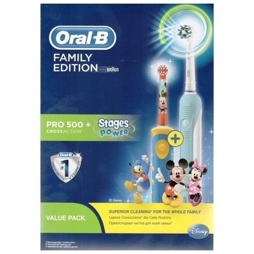 Электрическая зубная щетка Oral-B Pro 500 + Kids D10.513K