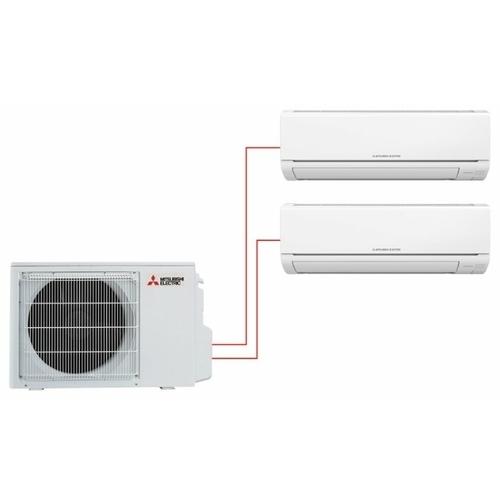 Настенная сплит-система Mitsubishi Electric MSZ-HJ25VA-ER1 + MSZ-HJ35VA-ER1 / MXZ-2HJ40VA-ER1