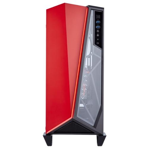 Компьютерный корпус Corsair Carbide Series SPEC-OMEGA Tempered Glass Black/red