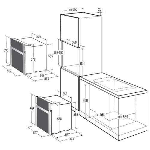 Электрический духовой шкаф Gorenje BO 8 KR