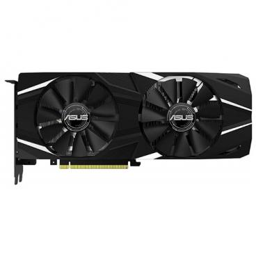 Видеокарта ASUS GeForce RTX 2080 1515MHz PCI-E 3.0 8192MB 14000MHz 256 bit HDMI 3xDisplayPort HDCP Dual OC