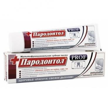 Зубная паста Пародонтол PROF Антитабак