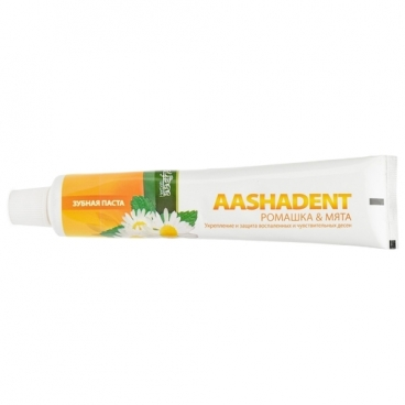 Зубная паста Aasha Herbals Ромашка - Мята