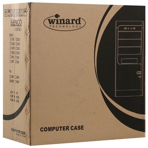 Компьютерный корпус Winard 3029 w/o PSU Black/silver