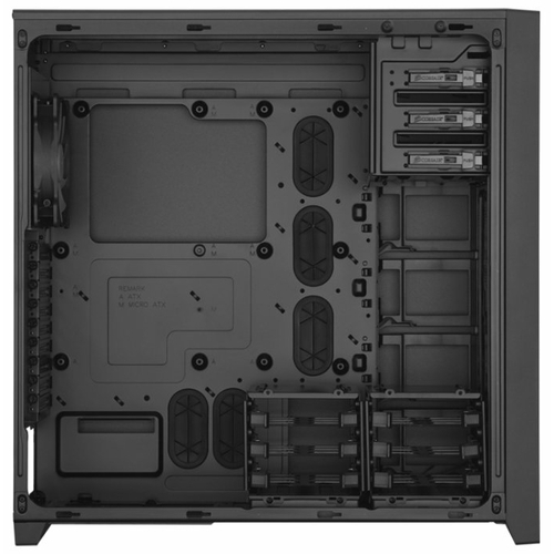 Компьютерный корпус Corsair Obsidian 750D Black