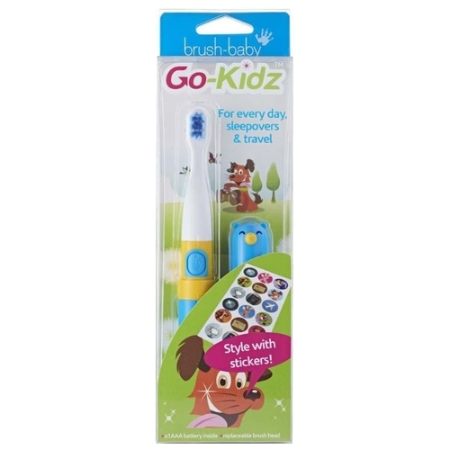 Электрическая зубная щетка Brush Baby Go-Kidz