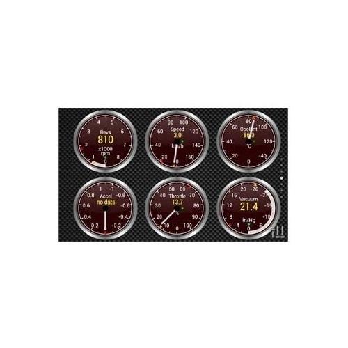 Автомагнитола CARMEDIA QR-7073-T3