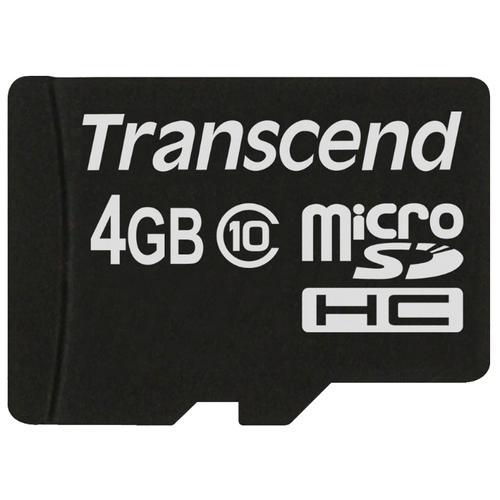 Карта памяти Transcend TS4GUSDC10