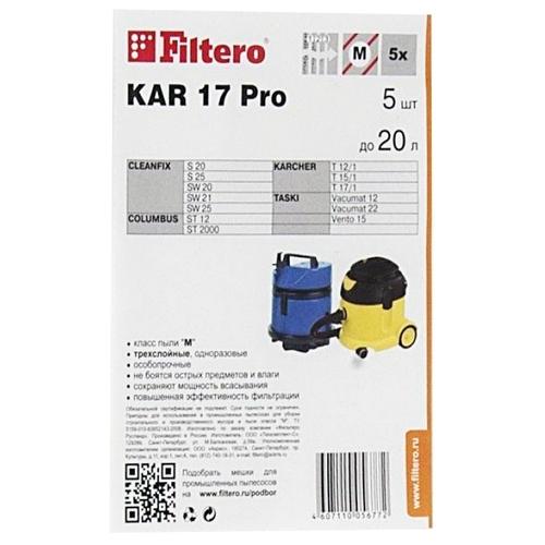 Filtero Мешки-пылесборники KAR 17 Pro
