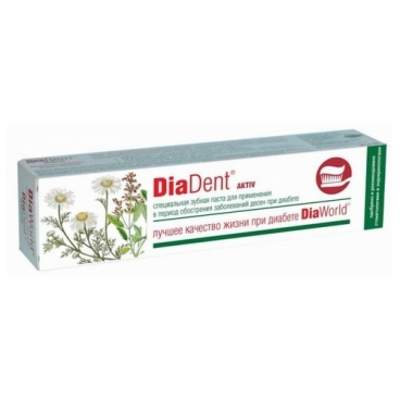 Зубная паста Diadent Актив