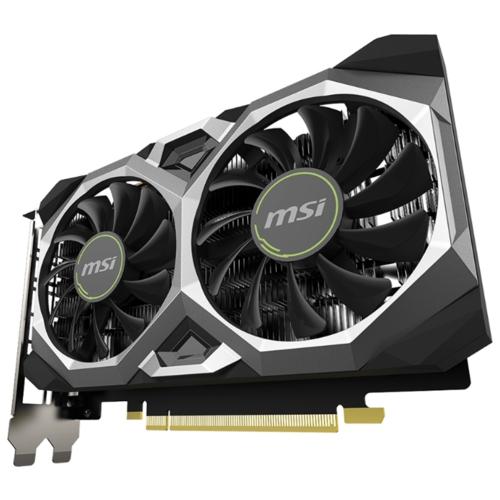 Видеокарта MSI GeForce GTX 1650 SUPER 1740MHz PCI-E 3.0 4096MB 12000MHz 128 bit DVI HDMI DisplayPort HDCP VENTUS XS OC