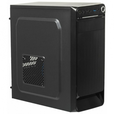 Компьютерный корпус ACCORD E-01 w/o PSU Black