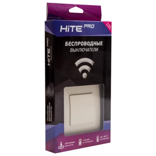 HiTE PRO Комплект (радиовыключатель + реле + рамка) KIT-1, слоновая кость