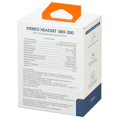Наушники INTERSTEP TWS SBH-300