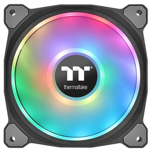 Система охлаждения для корпуса Thermaltake Riing Duo 14 LED RGB Radiator Fan TT Premium Edition (3-Fan Pack)