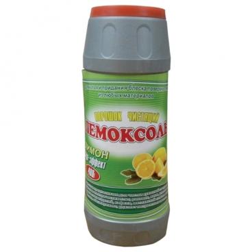 Чистящий порошок Пемоксоль лимон сода-эффект Московский Мыловар