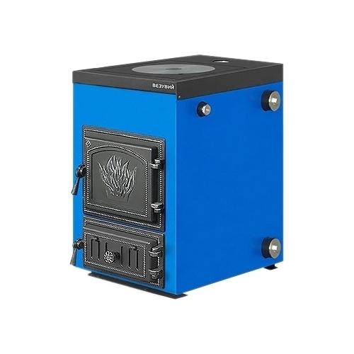 Твердотопливный котел Везувий Эльбрус-18 с плитой 18 кВт одноконтурный
