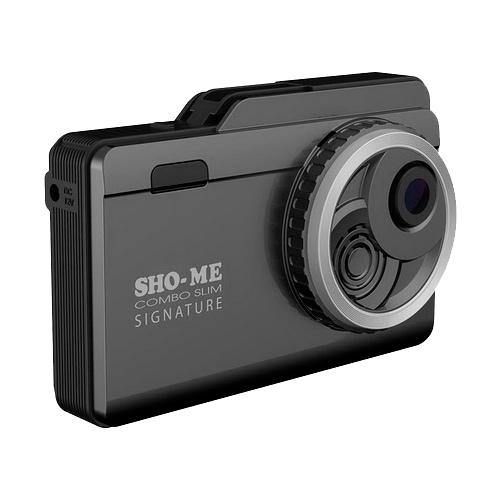 Видеорегистратор с радар-детектором SHO-ME Combo Slim Signature, GPS, ГЛОНАСС