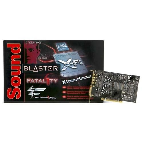 Внутренняя звуковая карта Creative X-Fi Xtreme Gamer Fatal1ty Professional Series