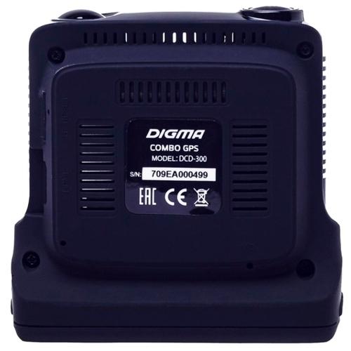 Видеорегистратор с радар-детектором Digma DCD-300