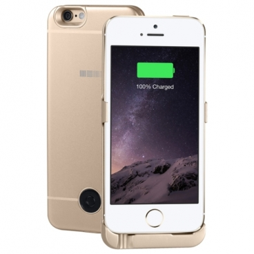 Чехол-аккумулятор INTERSTEP Metal battery case для iPhone 5/5S/SE