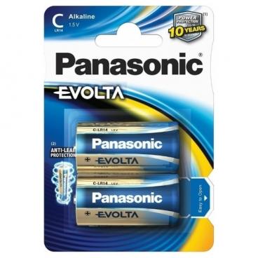 Батарейка Panasonic Evolta C/LR14