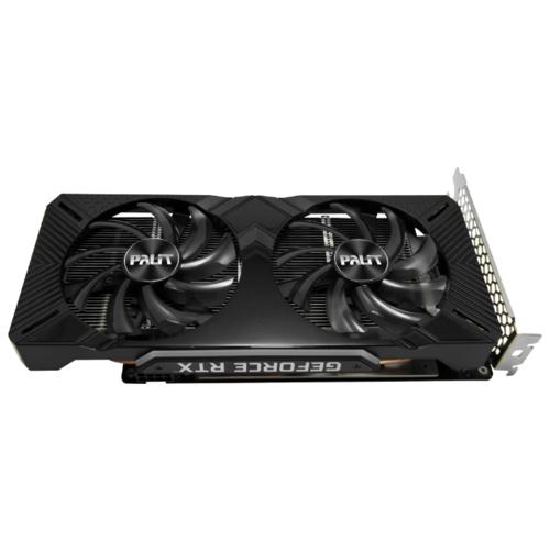 Видеокарта Palit GeForce RTX 2060 1365MHz PCI-E 3.0 6144MB 14000MHz 192 bit DVI DisplayPort HDMI HDCP Dual