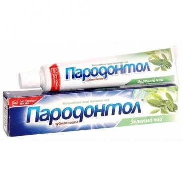 Зубная паста Пародонтол Зеленый чай