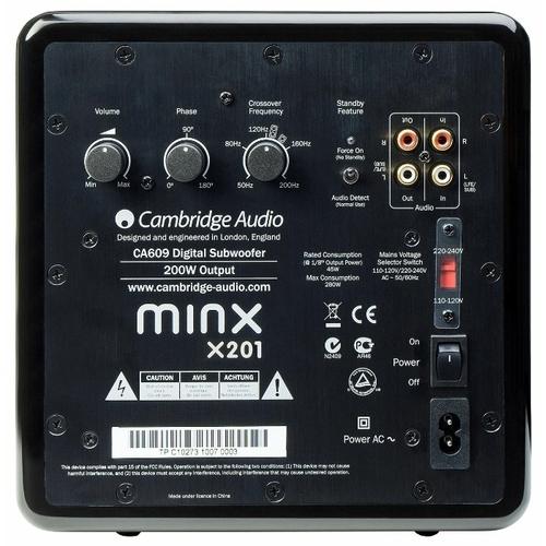Сабвуфер Cambridge Audio Minx X201