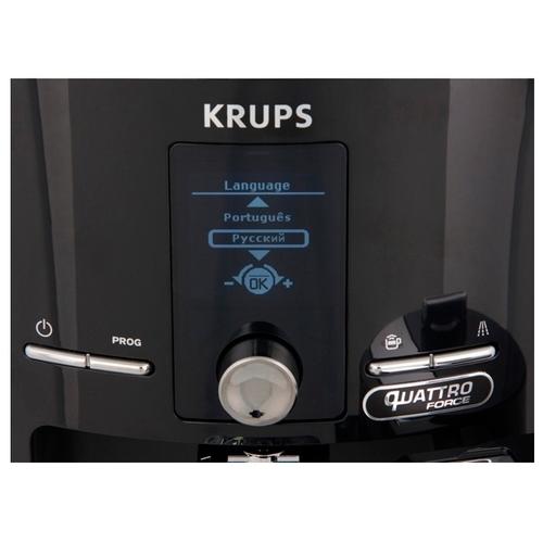 Кофемашина Krups EA82F810 Quattro Force