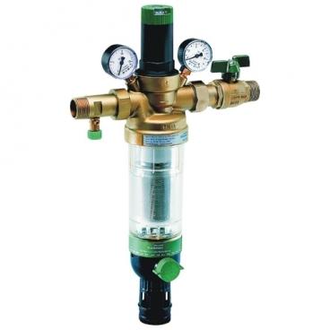 Фильтр механической очистки Honeywell HS 10S *AB муфтовый (НР/НР), латунь, с манометром
