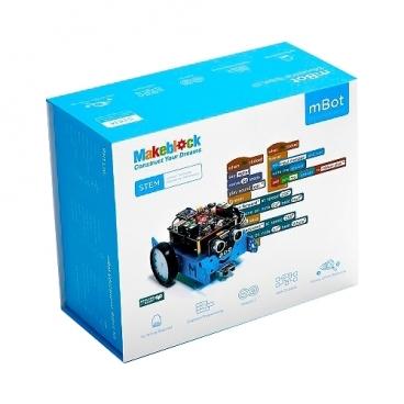 Электронный конструктор Makeblock Mechanical Kit 90053 Синий робот 1.1