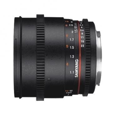 Объектив Samyang 85mm T1.5 AS IF UMC VDSLR II Nikon F