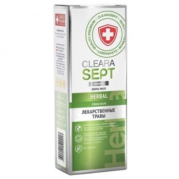 Зубная паста ClearaSept Herbal Лекарственные травы